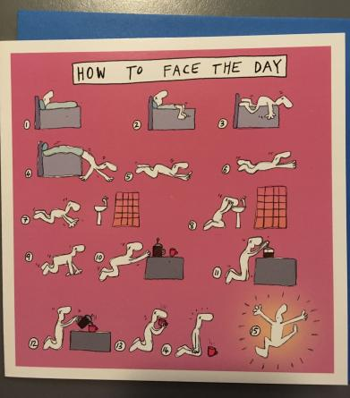 HPL 055 How to face the day