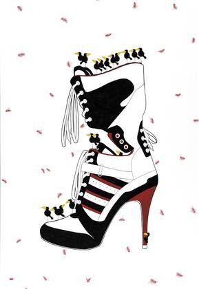 KD936 Raven Shoe