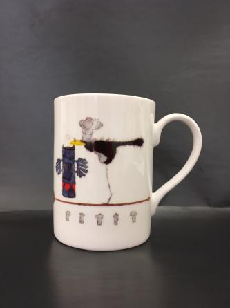 5-Haubenkoch Tasse IK/MF