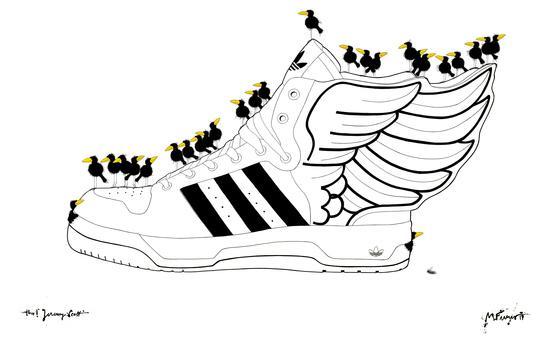 Sneaker Raven Wings KD 929