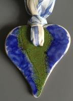 Herz - blau/grün