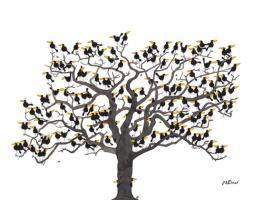 Der grosse Rabenbaum
