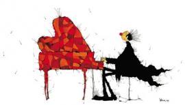 Am Flügel oder die Farben der Musik