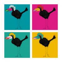 Pop Art Bird