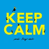 Keep Calm - blue