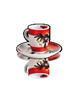 Espresso cup and saucer Ferner Flag of Austria